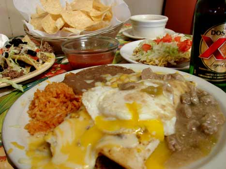 El rancho cafe for authentic mexican food in holcomb near garden city kansas for Mexican restaurant garden city