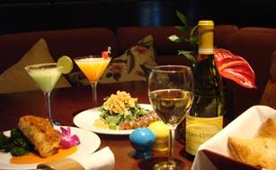 Tommy Bahama Tropical Cafe Menu